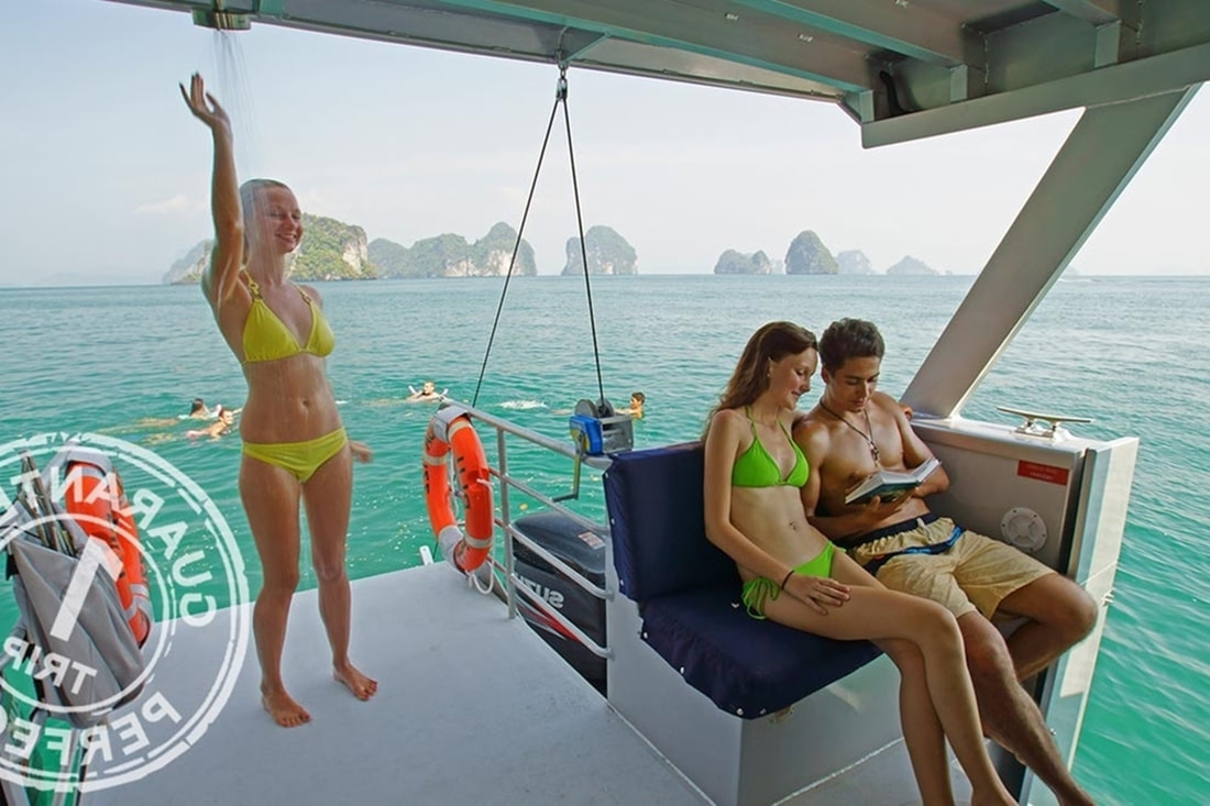 budget phi phi island tour by speed boat.